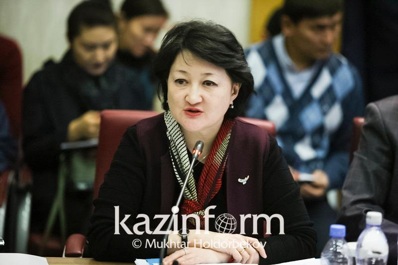 Актоты Раимкулова встретилась с членами Нацсовета