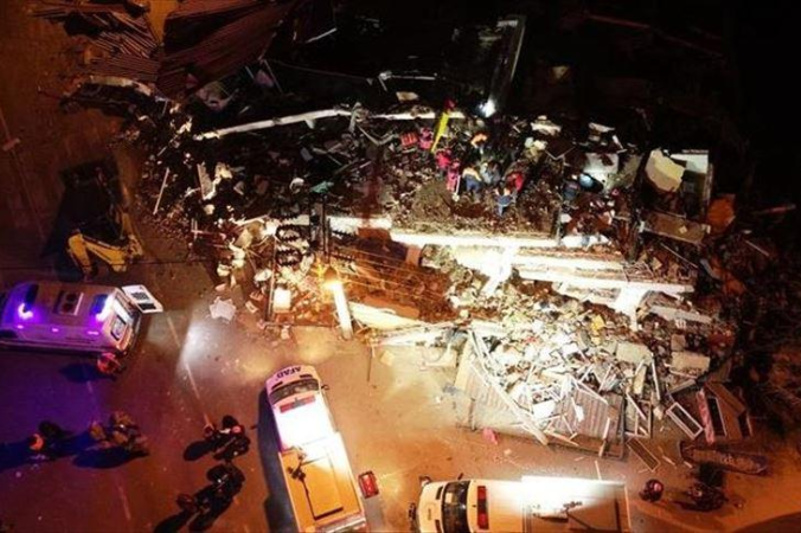 土耳其东部6.8级地震