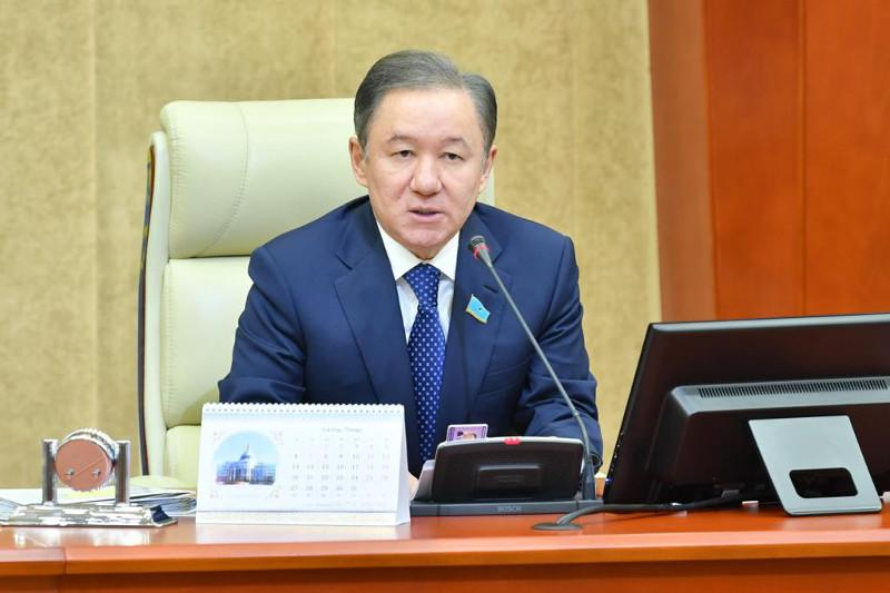 Kazakh Majilis Speaker mourns loss of life in Turkey earthquake