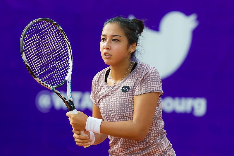 Теннис: Зарина Дияс әлемнің 10-ракеткасына есе жіберді