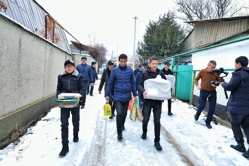 Программу «Камкорлык»продолжилив Тюлькубасском районе Туркестанской области