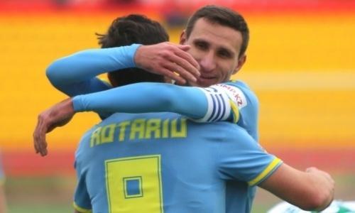 «Астана» в первом матче года разнесла претендента на выход в АПЛ