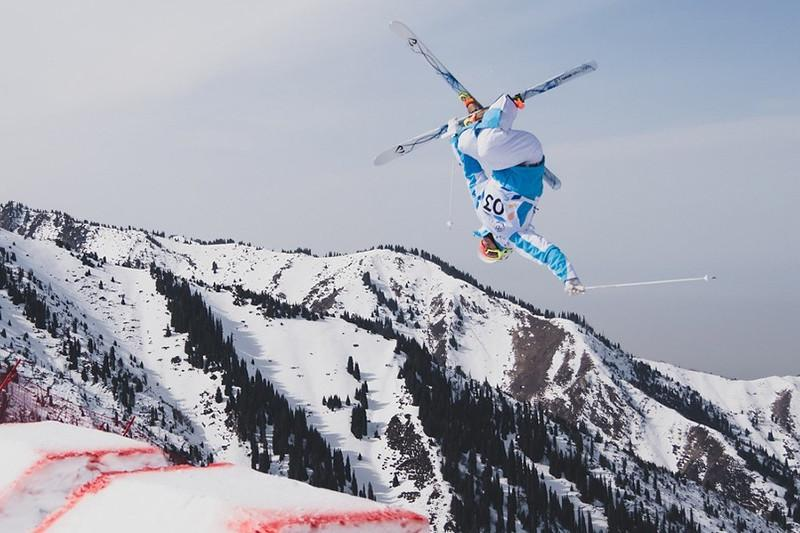 Kazakhstan's Galysheva 2ndat FIS Freestyle Ski Moguls in Canada