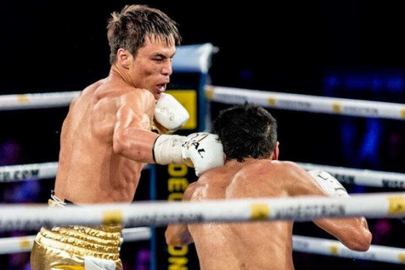 Kazakh boxer Jukembayev adds another professional victory to resume