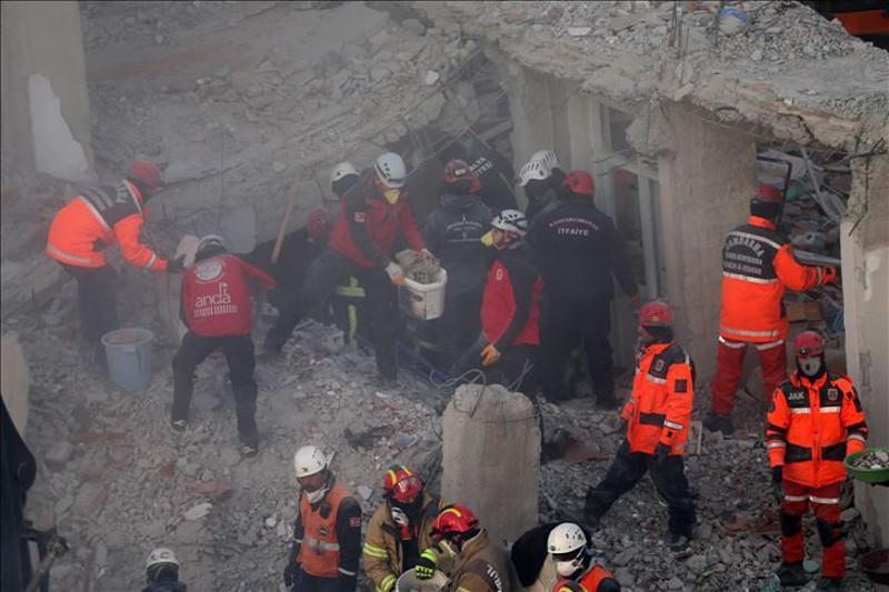 Землетрясение в Турции: число погибших увеличилось до 35