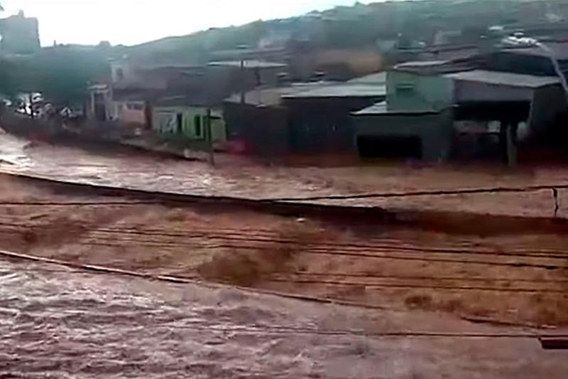 Бразилиядағы су тасқынынан 30 адам мерт болды