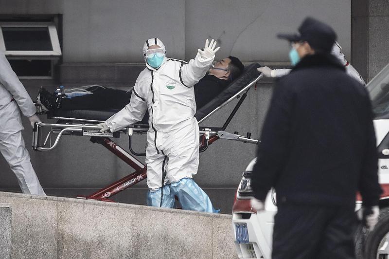 中国新型冠状病毒感染的肺炎病例增至2744例 死亡人数达80人