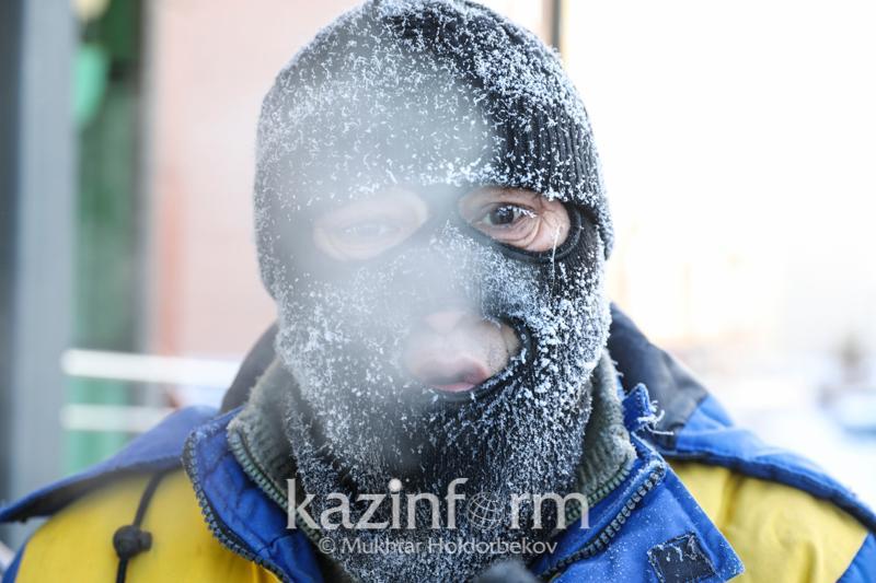 Mercury to drop to -30 degrees Celsius in Nur-Sultan