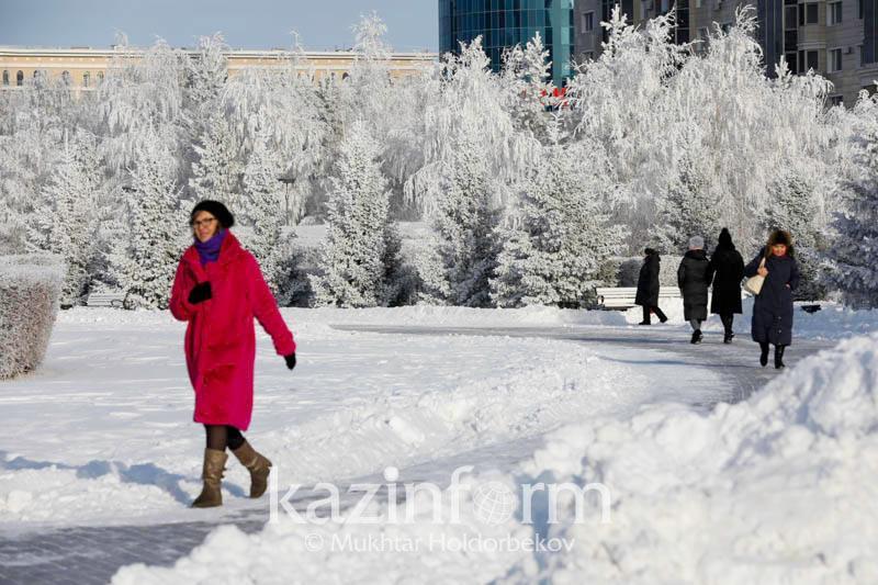 Какой будет погода в феврале в Нур-Султане