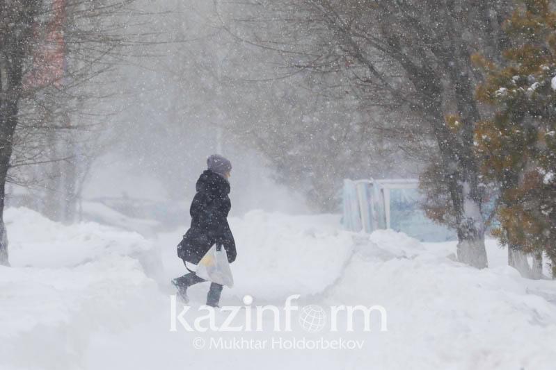Можно ли не выходить на работу в непогоду, объяснили в ДЧС Нур-Султана