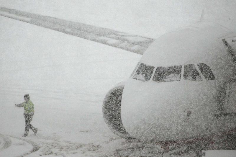 Елорда әуежайында боранға байланысты 50 рейс орындалмай қалды