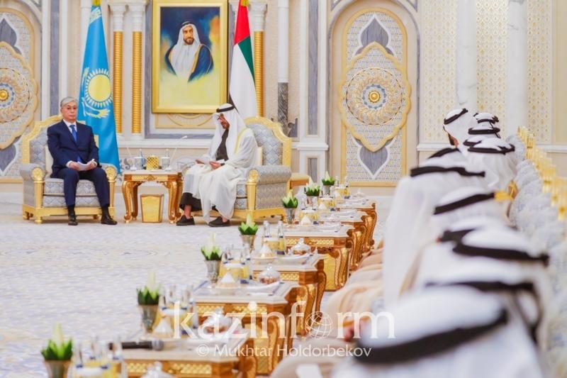 Нур-Султан  и Абу-Даби установили открытый и содержательный диалог - Президент РК