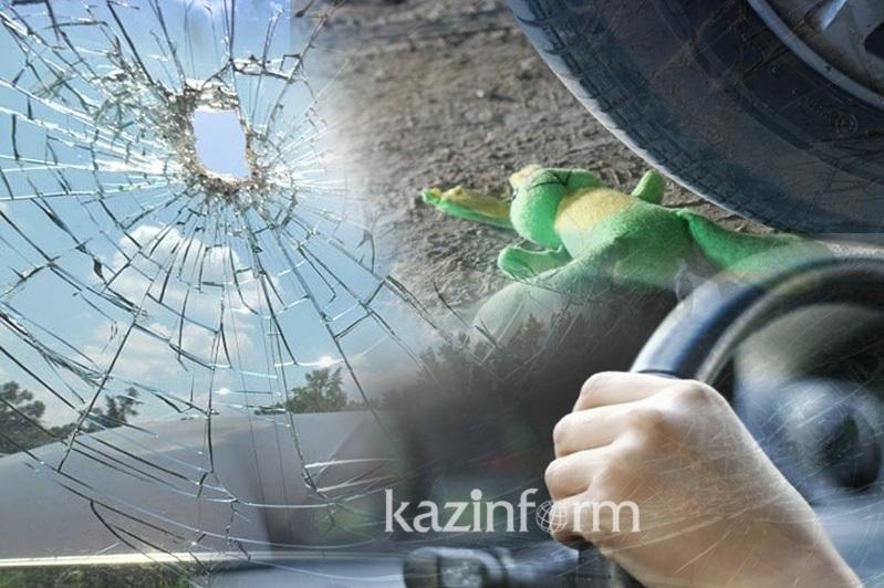 Павлодар - Қызылордатасжолындағы көлік апатынан ана мен бала қаза тапты