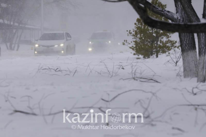 Nur-Sultanda 29 qańtardan bastap boran basylady - Qazgıdromet