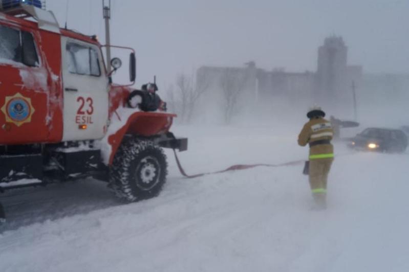 Россиянка родила в пожарной машине в Акмолинской области
