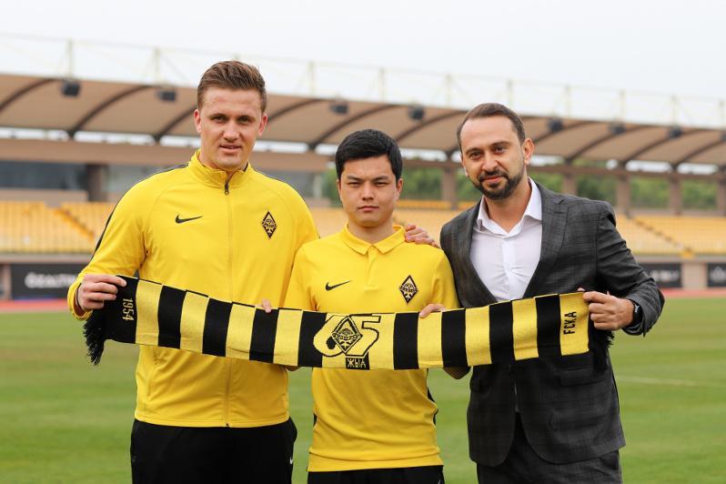 «Қайрат» командасы қатарына қырғызстандық футболшы қосылды