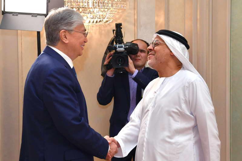 托卡耶夫总统会见Al Nowais Investments公司董事长