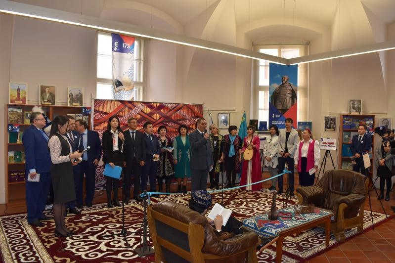 В Национальной библиотеке Чехии открылся культурно-информационный центр«Абай»