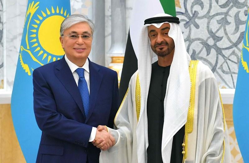 Опубликован видеообзор первого дня  визита Президента РК в ОАЭ
