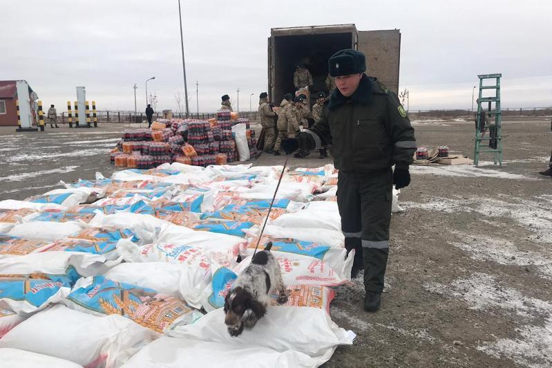 Дағыстан тұрғыны шекарадан 380 қап насыбайды заңсыз алып өтпек болған