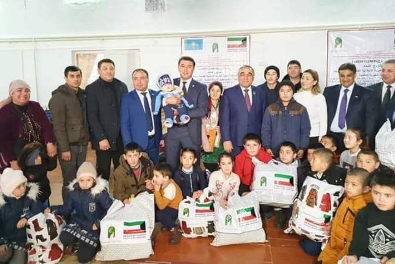 Túrkistan oblysynda110 balaǵa qamqorlyq jasady