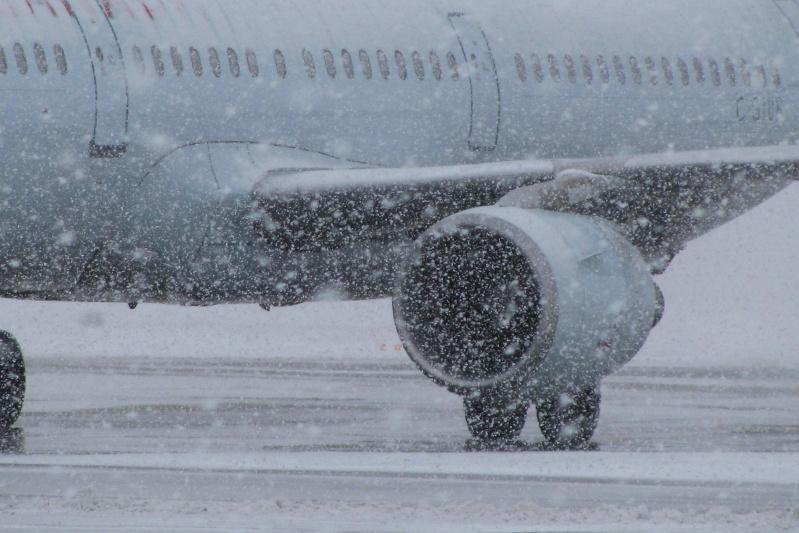 受暴风雪影响首都机场取消13架次航班