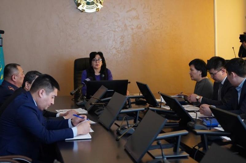 Коронавирустың алдын алу: Ақмола облысында өңірлік комиссия құрылды