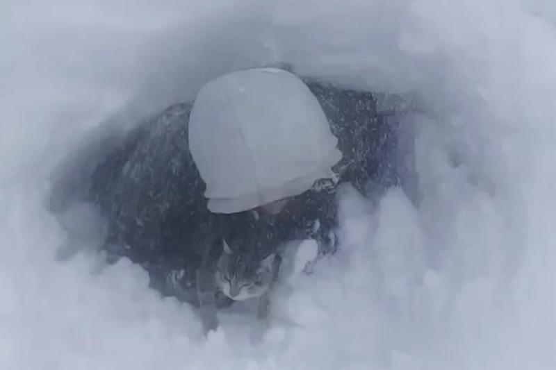 Қостанайда із-түзсіз кеткен екі адам бір тәулік бойы қар астындағы жертөледе жатқан