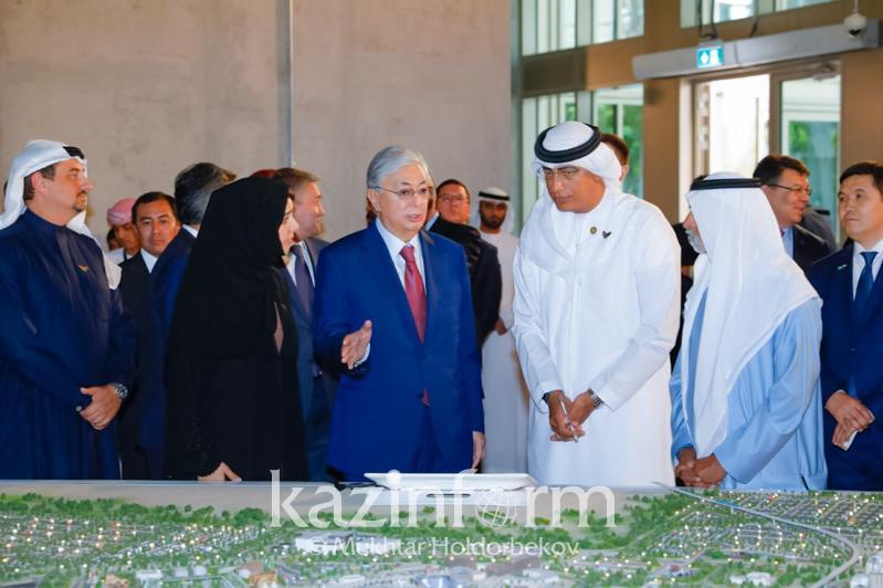 President Tokayev visits Expo 2020 Dubai site