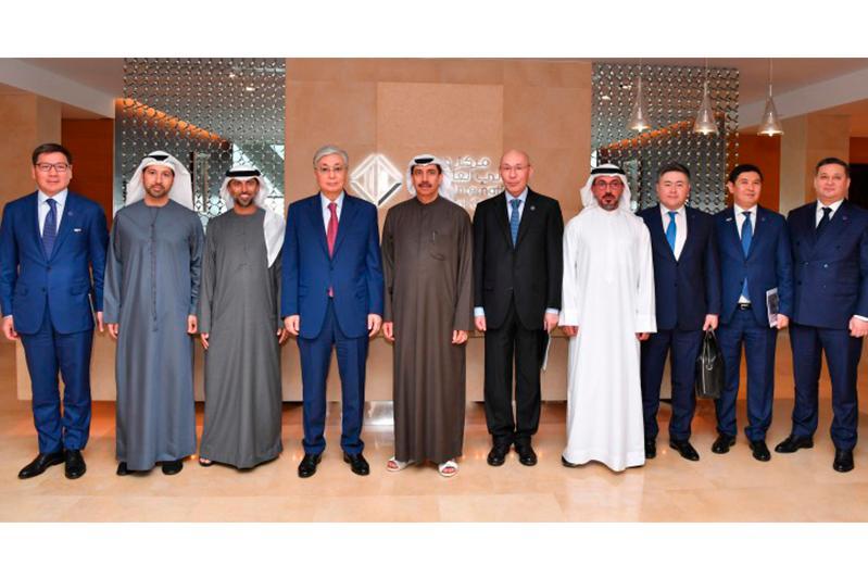 Tokayev visits Dubai International Financial Centre
