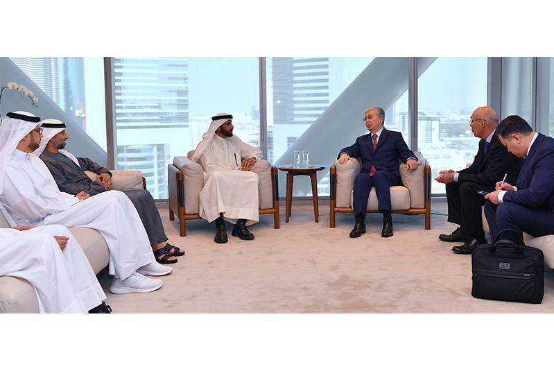Қазақстан Президенті Дубай инвестициялық корпорациясының атқарушы директорымен кездесті