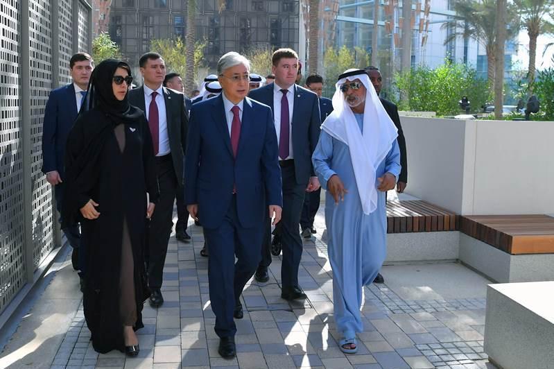 Опубликован видеообзор второго дня визита Президента РК в ОАЭ