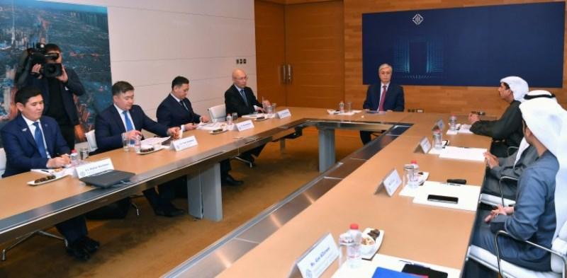 О перспективах сотрудничества МФЦА с Международным финансовым центром Дубая рассказал Кайрат Келимбетов