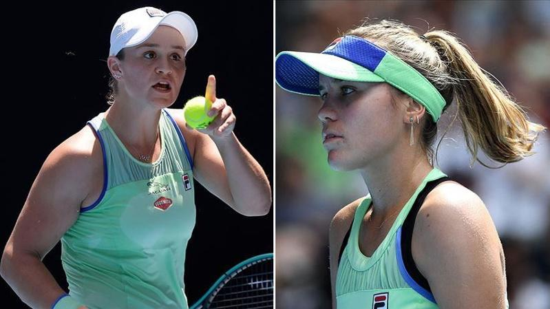 Barty advances to maiden Australian Open semifinals