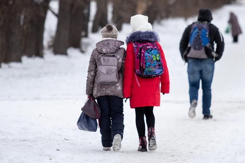 Занятия отменили для столичных школьников второй смены 0-4 классов