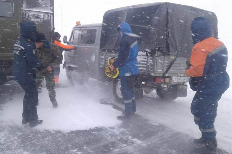 322 человека спасено на дорогах Карагандинской области за сутки