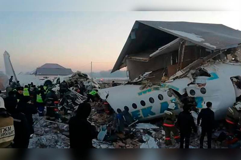 МВД РК: Второй пилот самолета «Bek Air» умер не от травм