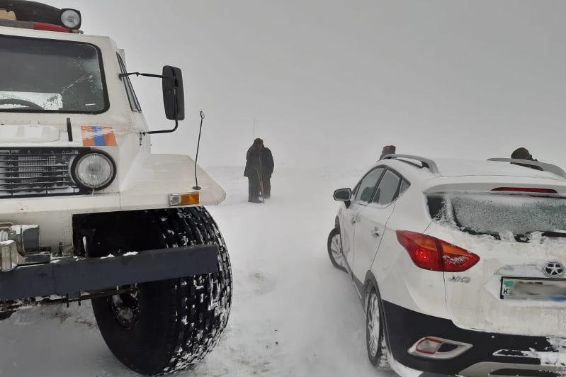 Более 300 человек спасли на дорогах Карагандинской области за сутки