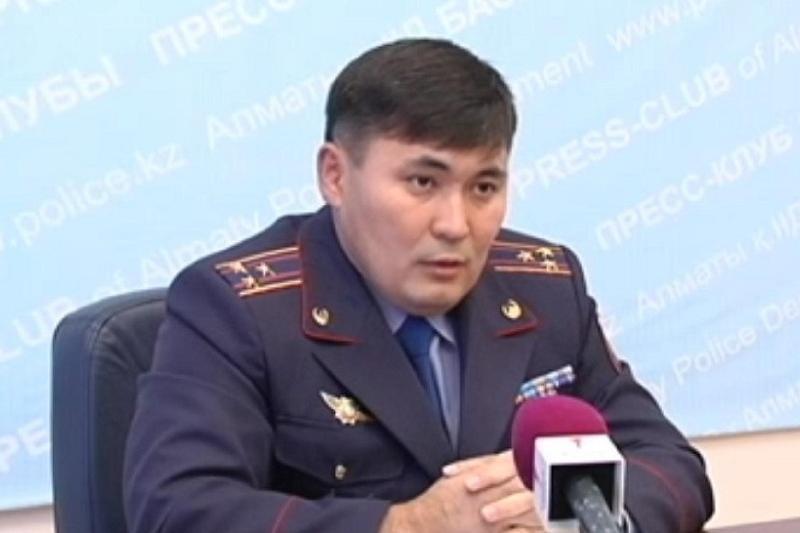 Almaty qalasy Polıtsııa departamentine jańa basshy taǵaıyndaldy