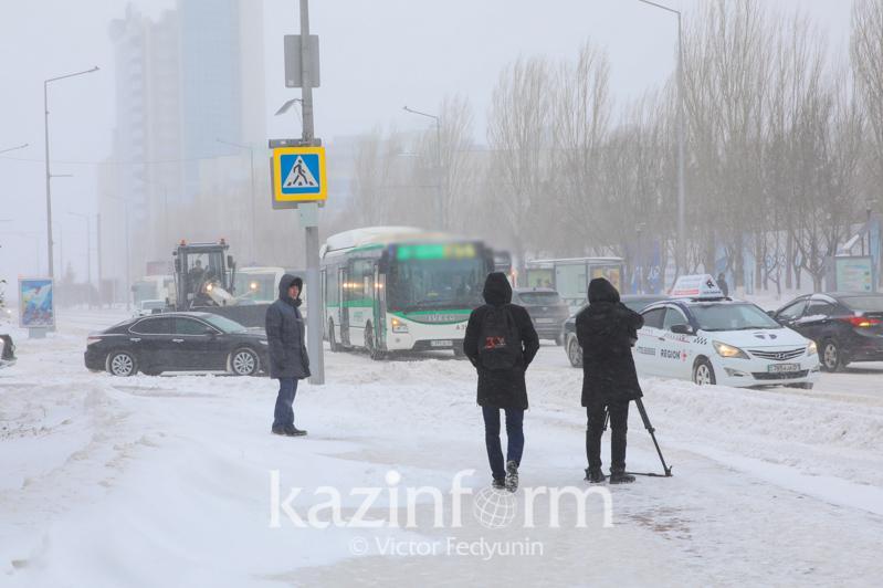 Автобусы временно не заезжают на некоторые остановки в Нур-Султане