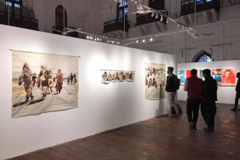 Современные художники Казахстана участвуют в Лахорской биеннале