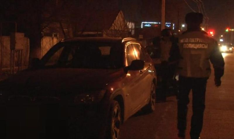 В состоянии наркотического опьянениязадержали водителя в Таразе