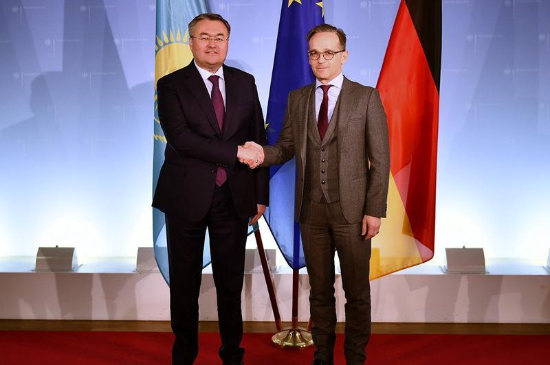 德国有意继续扩大与哈萨克斯坦的经济合作