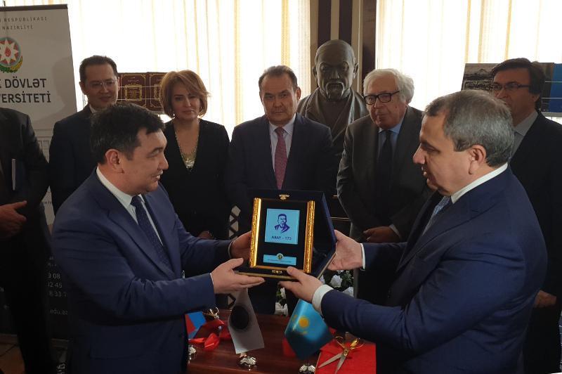 突厥世界的阿拜年活动在阿塞拜疆开幕