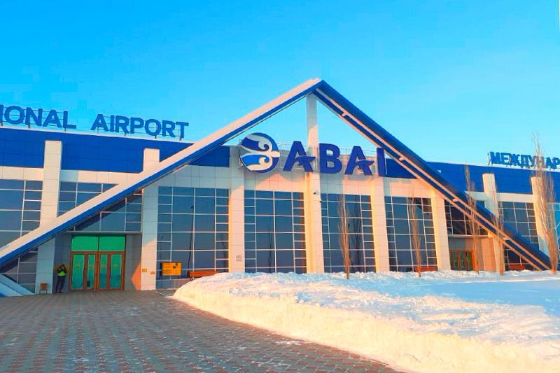 АBAI: Новая вывеска появилась на здании аэропорта Семея