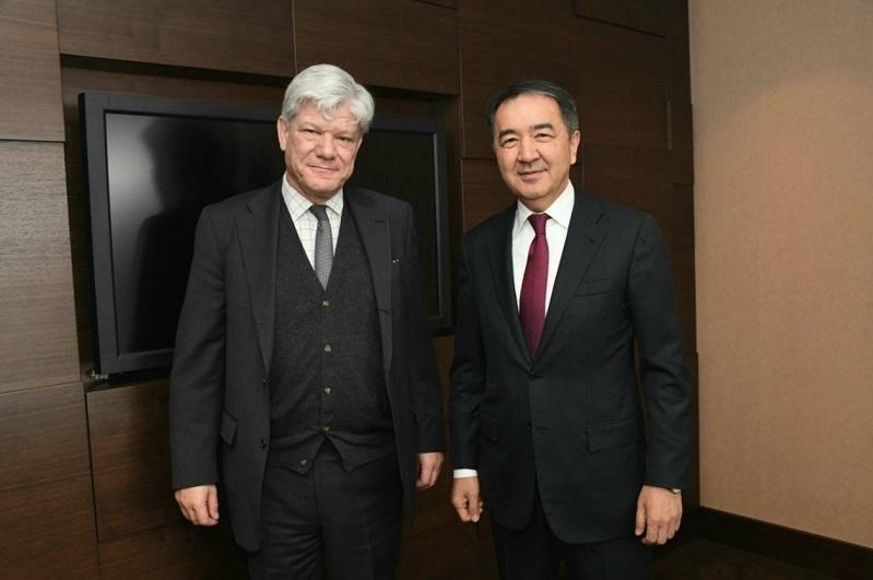 Almaty mayor, UN Under-Secretary-General hold talks