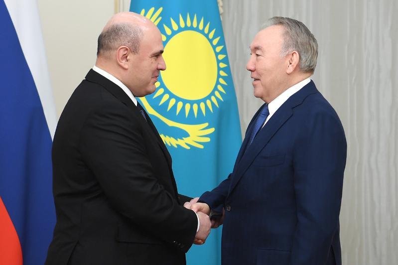 Нұрсұлтан Назарбаев РФ Үкіметінің төрағасы Михаил Мишустинмен кездесті