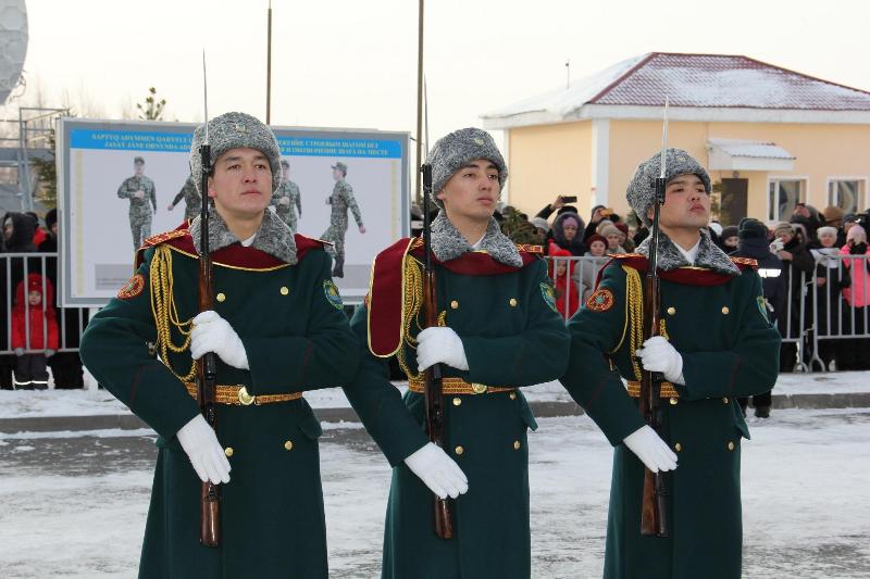 Более 700 гвардейцев приняли присягу в Нур-Султане