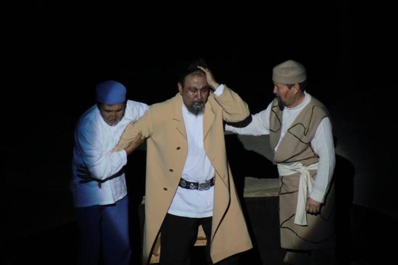 Қызылордада көрермен назарына «Абай» спектаклі ұсынылды