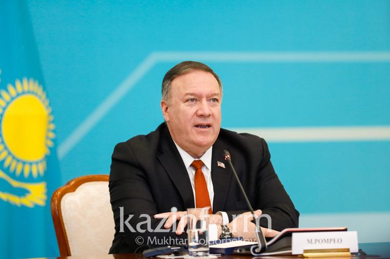 Майк Помпео: Наши переговоры еще раз подтверждают будущее отношений между Казахстаном и США